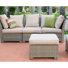Wicker Sofa Bed by Coral Coast South Isle All Weather Wicker Natural Outdoor