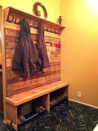 Entryway Coat Rack With Shoe Storage by Entryway Bench With Rack U2013 Amarillobrewing Co