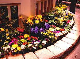 Flower Garden Ideas Pictures Beautiful Design Of Flower Beds Ideas Exterior Kopyok Interior