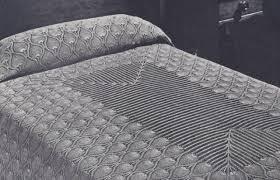 vintage crochet pattern to make pineapple bedspread tablecloth
