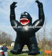 gorilla balloon advertising backpack balloon buy self inflating