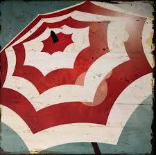 Colorbok Scrapbook Colorbok Boardwalk Beach Umbrella 12 X 12 Flat Scrapbook Paper