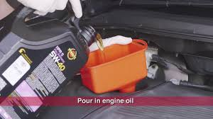 nissan micra oil change changing engine oil u0026 filter supercheap auto