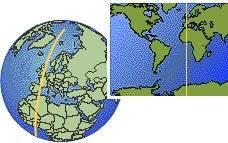 utc zone map current local in utc gmt