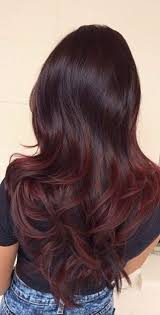 hair colours 49 of the most striking dark red hair color ideas