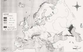 Blank Maps Of Europe by This Is Our Blog The Relief Of Europe Blank Map