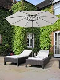 Grey Rattan Outdoor Furniture by Pair Of Bali All Weather Grey Rattan Garden Furniture Loungers