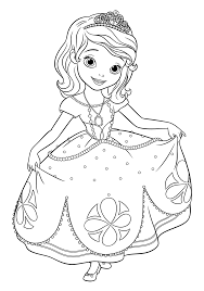 awesome sofia coloring pages sofia coloring