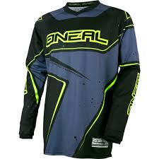 motocross gear for kids o u0027neal element gray hi viz motocross dirtbike gear 2017