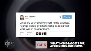 Smart Gadgets by Top 5 Smart Home Gadgets For Apartments And Dorms