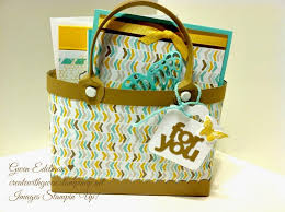 purse gift bags create with gwen stin up independent demonstrator gwen