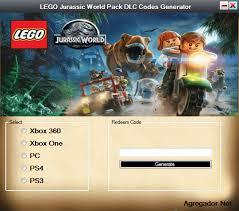 tutorial lego jurassic world ps3 lego jurassic world pack dlc codes download agregador web
