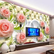 3d Wall Decor by Aliexpress Buy Custom Any Size Photo Wallpaper 3d Wall Decor