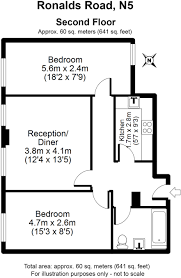2 bedroom flat for sale in citadel court ronalds road highbury