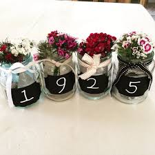 90th Birthday Centerpiece Ideas by Use Chalkboard Numbers Table Centre Piece Grandad 90th Born In
