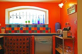 cuisine coloree kitchen orange for the home en couleur cuisines