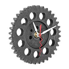 auto timing gear wall clock wall clocks engine and clocks