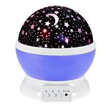 veilleuse pour chambre 360 rotation veilleuse bébé enfants led projecteur etoiles wawj