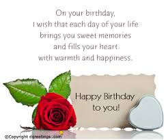 Happy Birthday Wish Birthday Wishes Best Happy Bday Wishes Sms And Special Messages