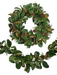 decor beautiful magnolia wreath with magnolia leaf wreath and