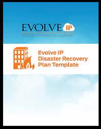 evolve ip dr plan template