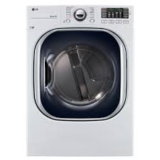 Propane Clothes Dryers Lg Electronics 7 4 Cu Ft Gas Dryer With Turbosteam In White