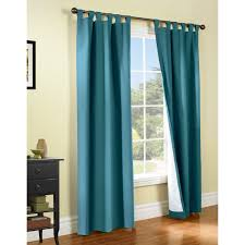 living room insulated curtains with blue curtain and high quality