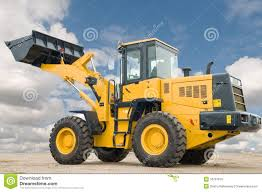 front end loader machine royalty free stock image image 16787016