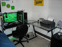 L Shaped Desks For Home Office Best Glass L Shaped Desk Glass L Shaped Desk Style Intended For