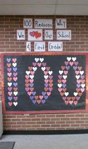 Valentine S Day Classroom Decor by Free 100th Day Bulletin Board Ideas U0026 Classroom Decorations