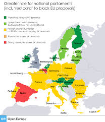 European Union Blank Map by How May Others React To Uk U0027s Eu Reform Plans Open Europe