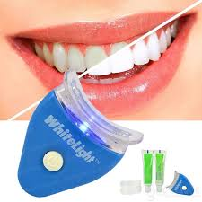 how to use teeth whitening gel with light light teeth whitening system