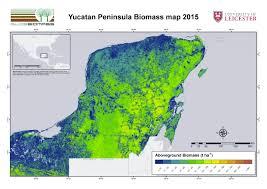 map of mexico yucatan region regional biomass mapping mexico esa due globbiomass