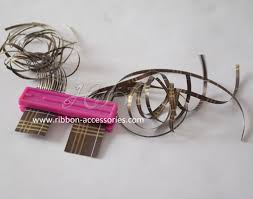 sided ribbon new curling ribbon shredder with metal teeth and ribbon curler tool