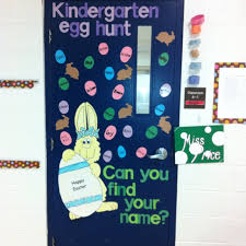Easter Decorations For Classroom Door by 41 Best Door Decorations Images On Pinterest Classroom Ideas