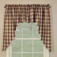 country swag curtains cinnamon swags 72