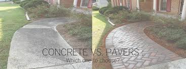 Cost Of Patio Pavers by Concrete Vs Pavers Which One To Choose