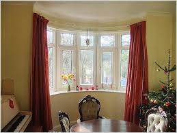 window curtain how to hang curtains on bay windows fresh corner window curtain rod artistic