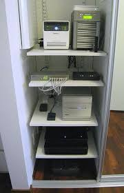 home network closet design home office brain tech and pc