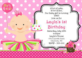 Invited Card For Birthday 1st Birthday Invitations Templates Free Amazing Invitations Cards