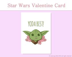 Star Wars Room Decor Etsy by Star Wars Greeting Card Yoda Best Printable Card Love