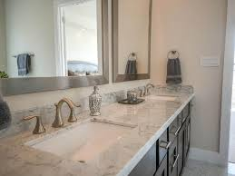 elegant bathroom design with natural brushed nickel wall mounted