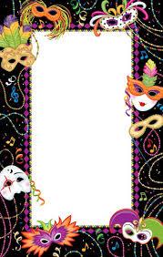 mardi gras picture frame innbyding til karneval mardi gras invitation template mardi gras