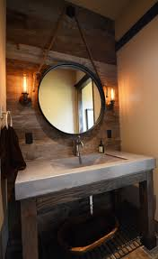 Powder Room Sinks Concrete Bathroom Sinks That Make A Strong Statement Without Any