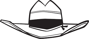 how to draw a cowboy hat free download clip art free clip art