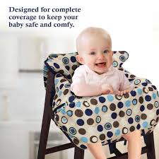 Baby High Chair Cover Baby Shopping Cart Cover 2 In 1 High Chair Cover Medium