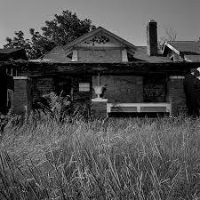 one houses abandoned houses one block in detroit jones