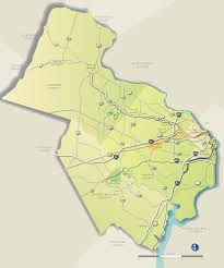 Map Of Northern Virginia Background Transaction