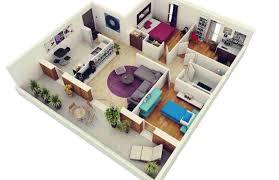 layout ruangan rumah minimalis denah rumah minimalis 2 kamar dan 1 ruang kerja house pinterest