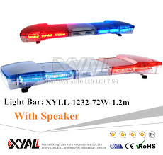 police led light bar 47 waterproof led light bar emergency signal light bar for